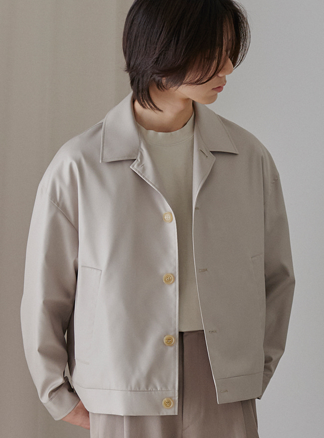 Recycle City Blouson - Light Beige