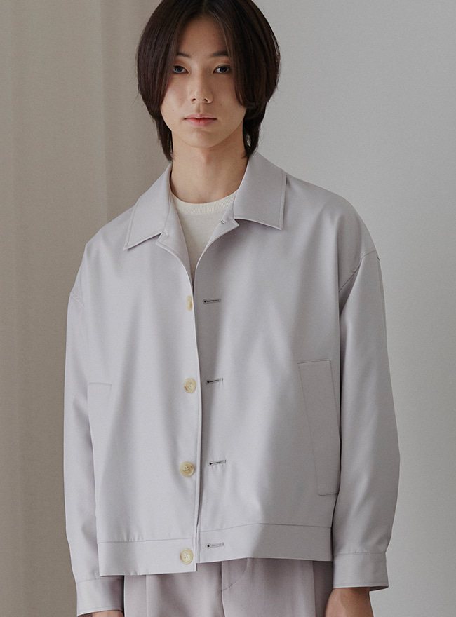 Recycle City Blouson - Light Grey