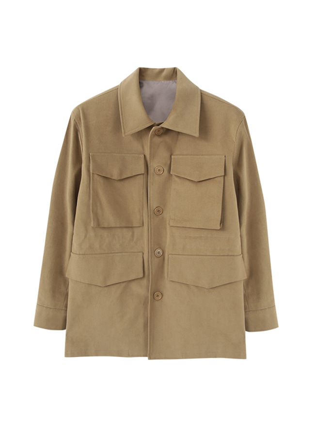 Hunter Safari Jacket - Beige