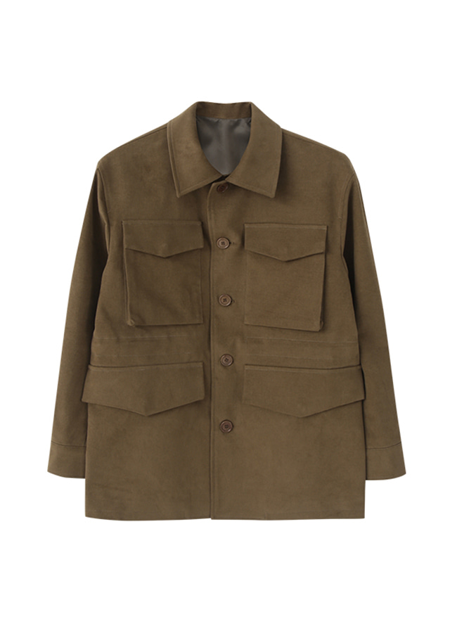 Hunter Safari Jacket - Light Brown